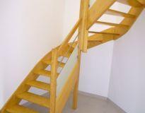 Escalier tubes et verre