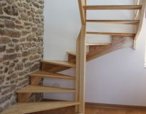 Escalier 3/4 tournant