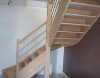 fabricant escalier 1 4 tournant sur mesure escaliers. Black Bedroom Furniture Sets. Home Design Ideas