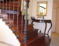 Escalier balustres à l'anglaise