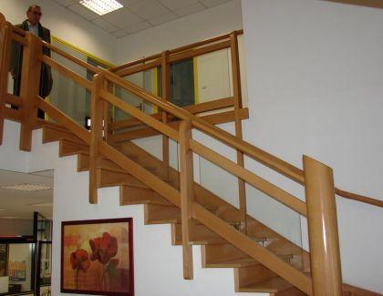 Escalier hêtre