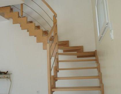 Escalier limon en Z
