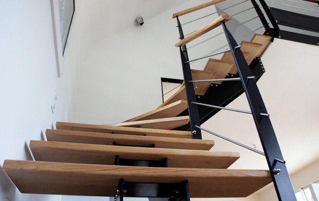 Fabricant escalier Bretagne - Traditionnel, Contemporain, Métallique ...