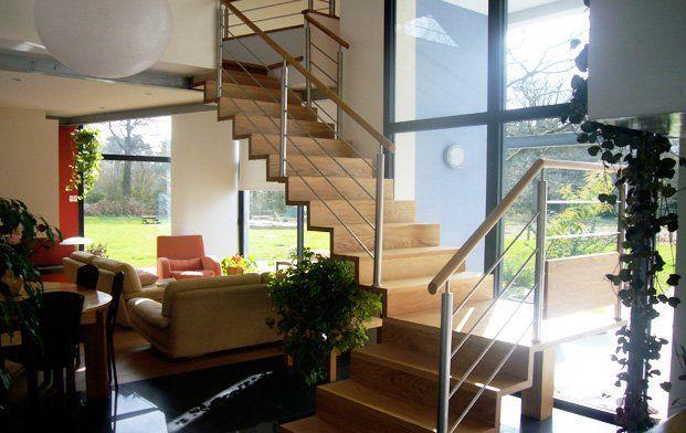 fabricant escalier bretagne traditionnel contemporain m tallique escalier reux 35 56. Black Bedroom Furniture Sets. Home Design Ideas